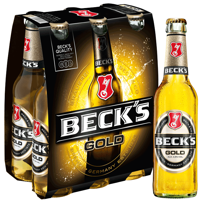 Beck's Gold Sixpack